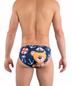 Back Briefs Sailor Bear