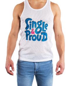Front Tank Top Single & Proud